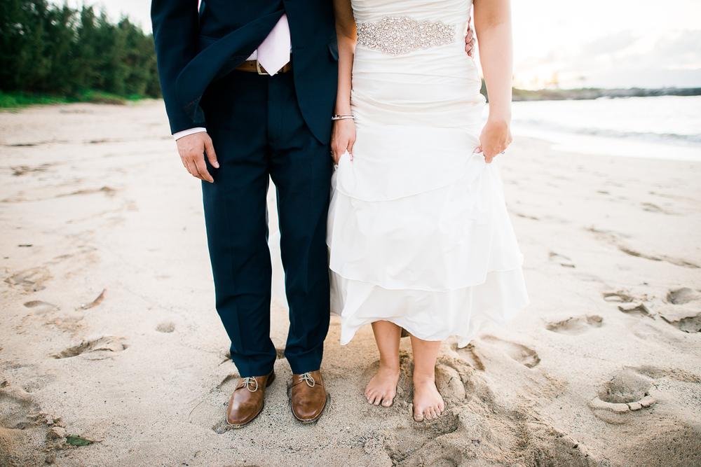 Maui Wedding Photography at Hyatt - Beach Portraits