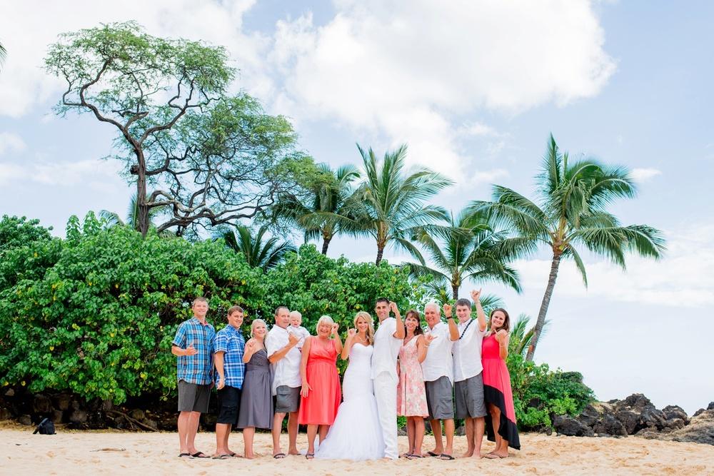 Maui Wedding Photography - First Look Makena Cove
