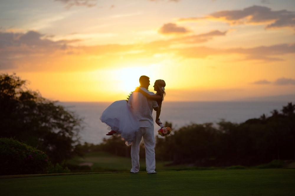 Maui Wedding Photography - Sunset