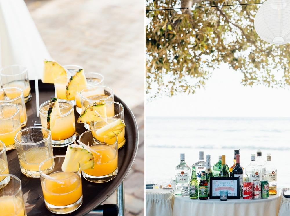 Hawaii Wedding Photography - Cocktail Hour