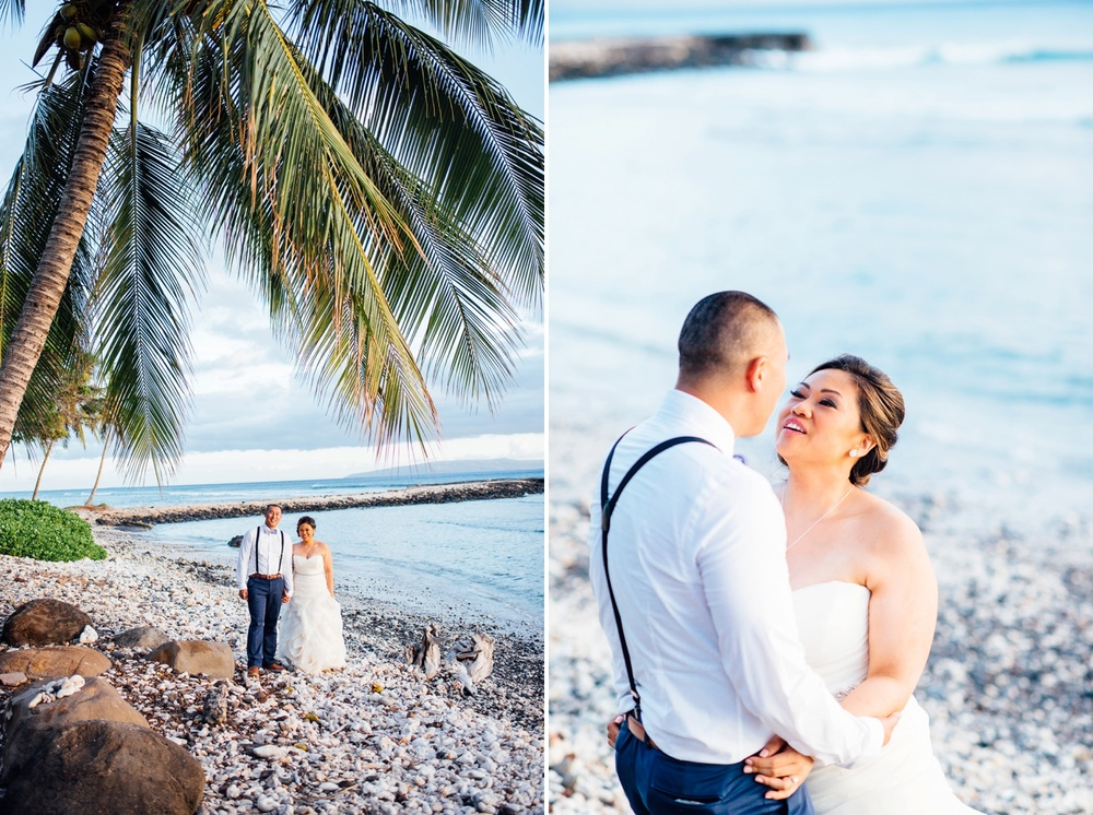 Hawaii Wedding Photography - Bride & Groom Portraits