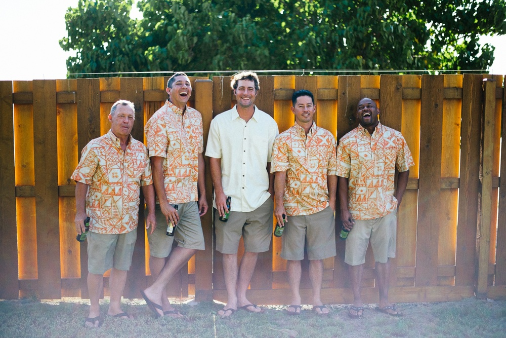 Maui Wedding Photography - Groomsmen
