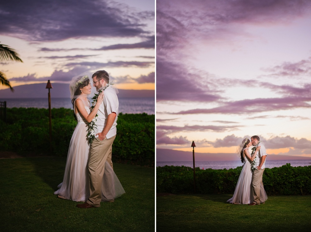Maui Wedding Photography - Bride & Groom Portraits