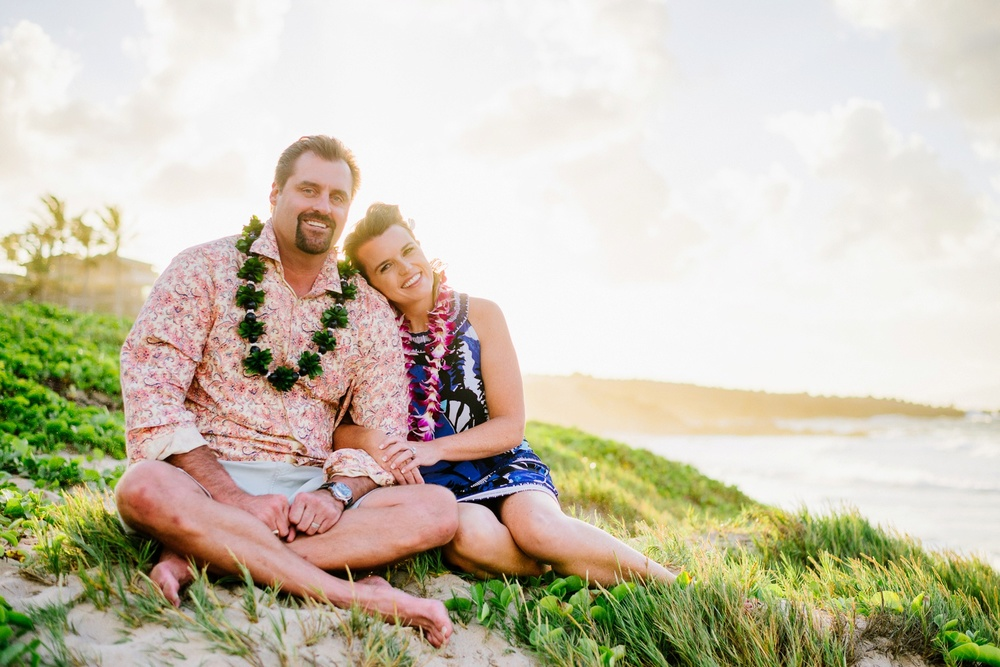 Maui Family Portraits - Sunset Session