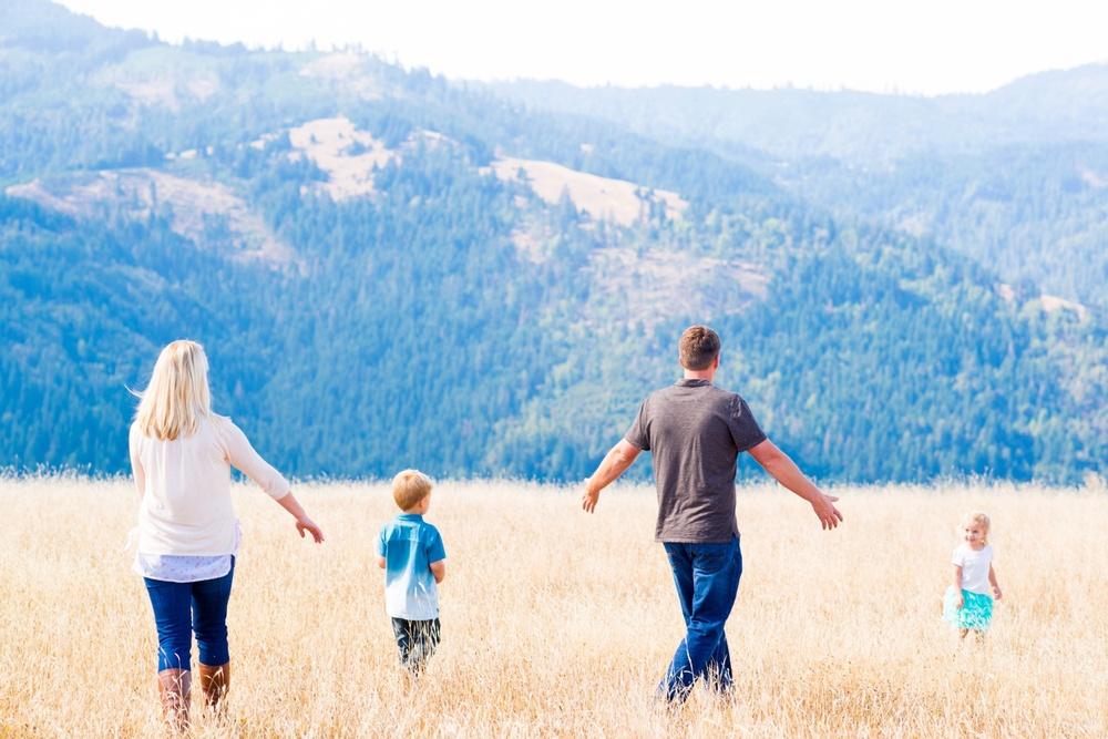Family Photography - Humboldt County, California