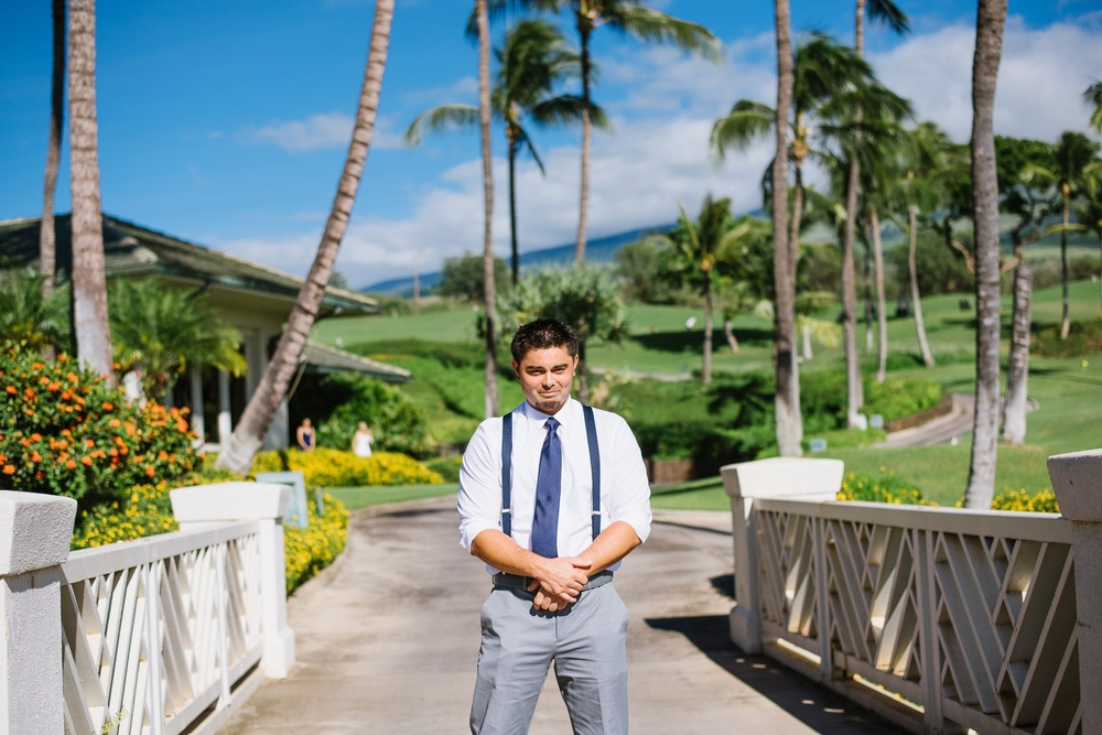 Maui Wedding Photography - First Look