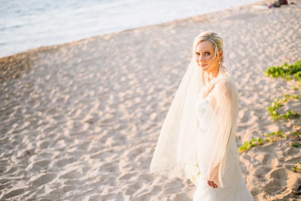 Maui Wedding Photography - Beach Sunset Portraits