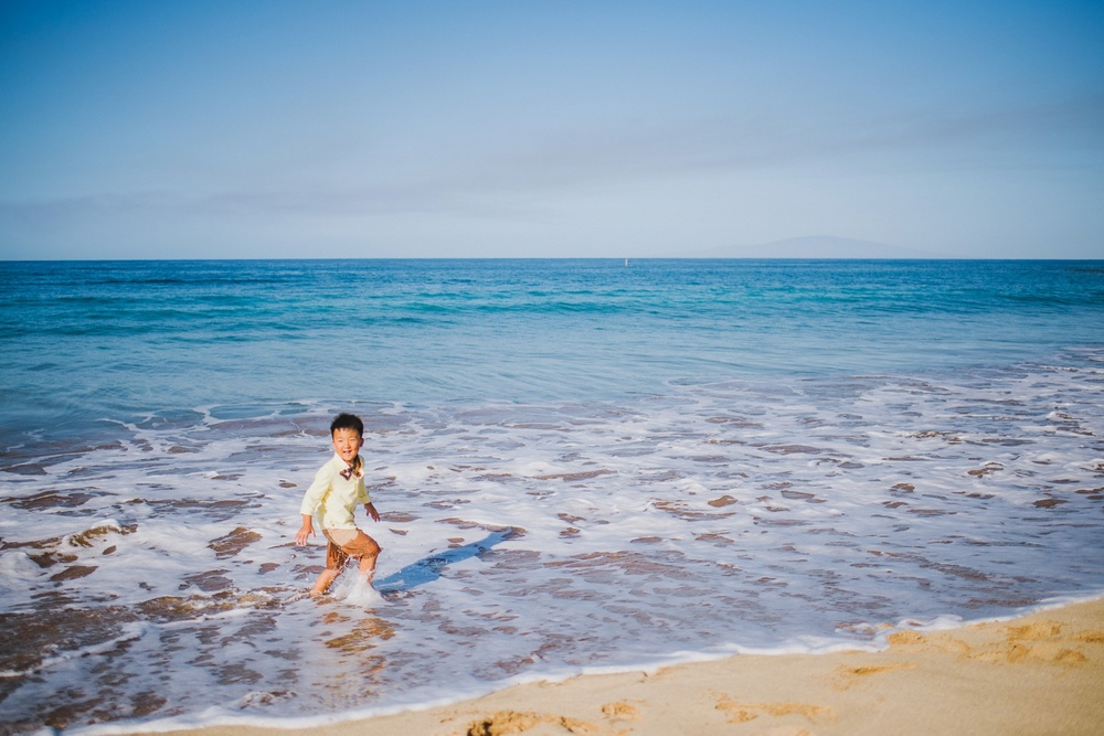 Maui Family Photography - White Rock Beach
