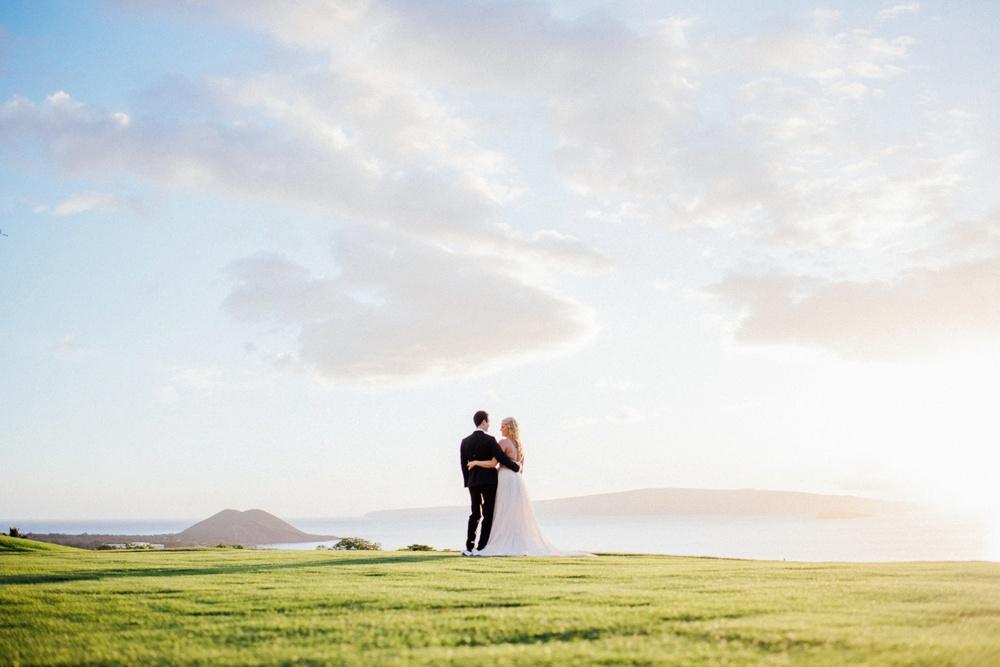 Maui Wedding Photography - Bride & Groom Portraits