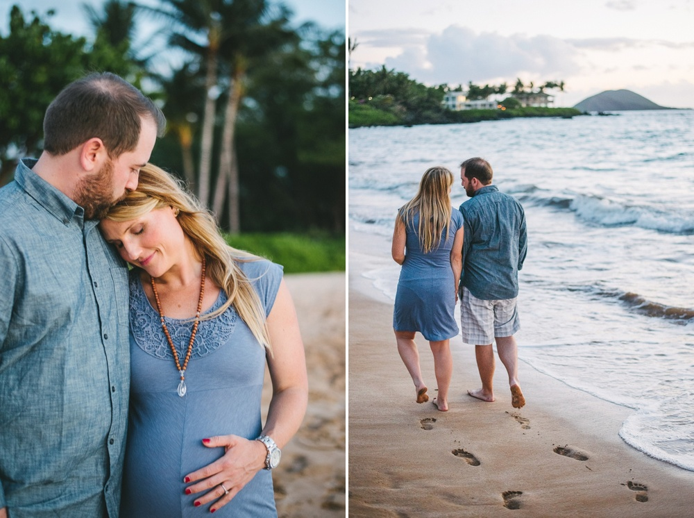 Maui Beach Maternity Photography