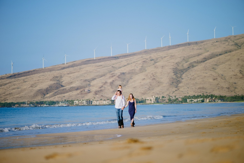 Maui Family Photographer - Sugar Beach