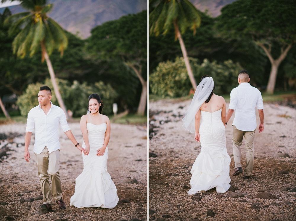 Maui Wedding Photography - Olowalu Plantation House - Couple Portraits