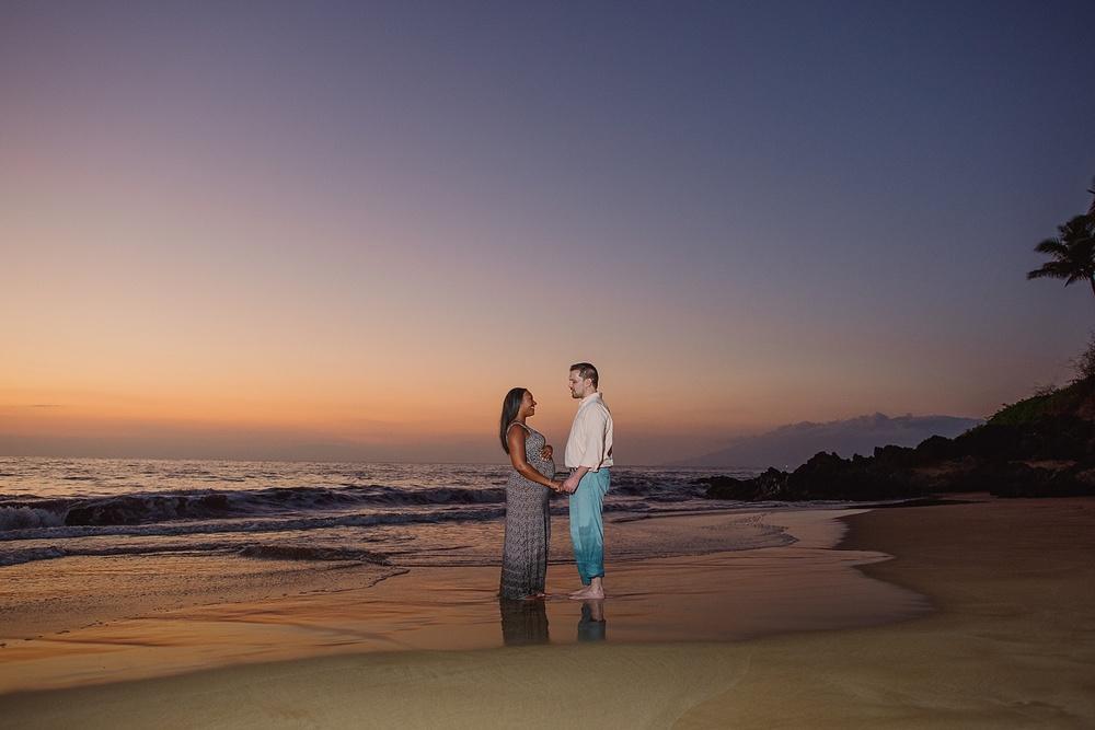Maui Maternity Portraits - Couple Portraits