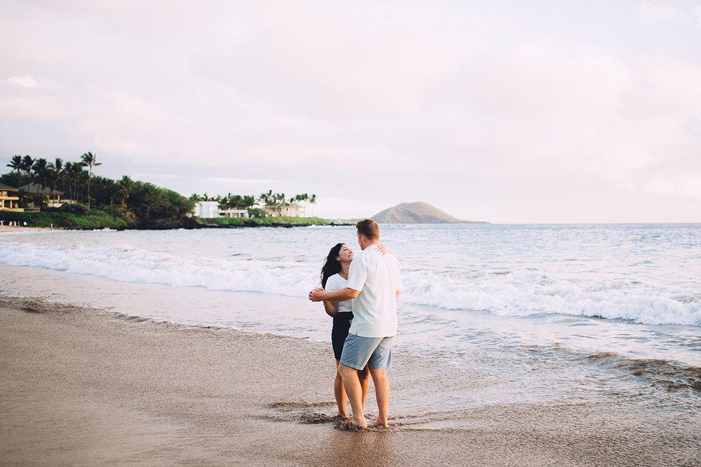 Honey Moon Couple Portraits Hawaii