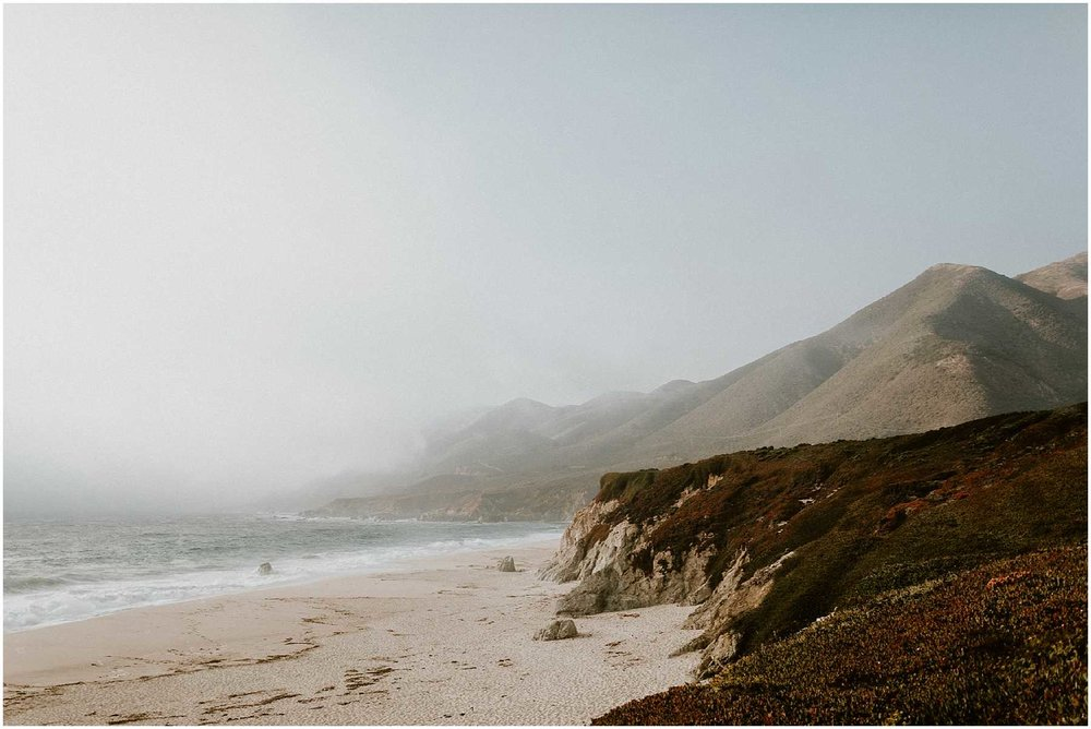 Anniversary shoot on the Big Sur Coast