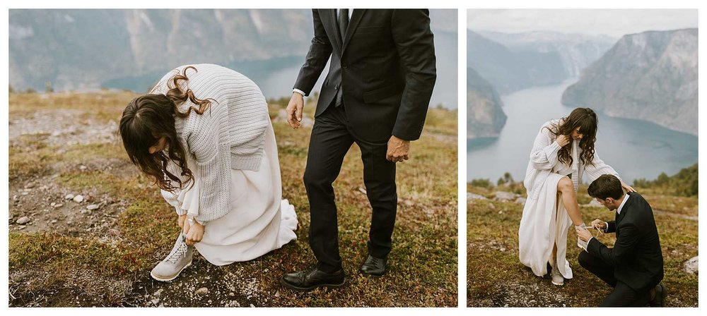 An Elopement in the Fjords of Norway