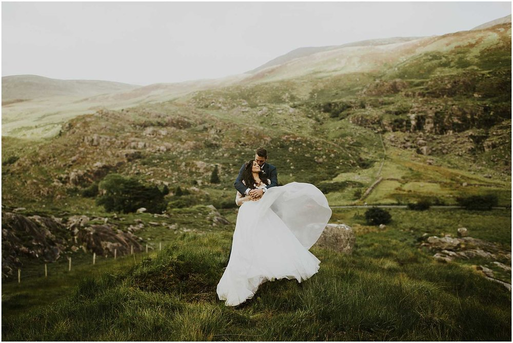 Intimate Wedding at the Gap of Dunloe in Ireland