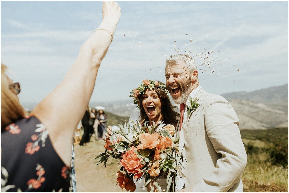 "Intimate Mountaintop Santa Barbara Elopement - ""I still get goosebumps when I look through our wedding photos from April 2018. Anni traveled to Santa Barbara to shoot our intimate mountaintop wedding and hiring her was the best decision we made in during our entire wedding planning process. Anni's photographs are beautiful beyond words, her eye is unmatched, and she is so EASY and FUN to work with. I trusted Anni wholeheartedly, gave her little direction, and the final product turned out better than I could have ever imagined. Working with Anni was the pleasure and the privilege of a lifetime."" - Rachel"