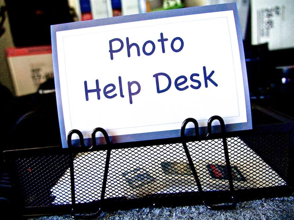 help desk photo help desk