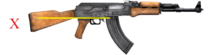 "AK-47 Configured as an Assault Weapon with ""Detachable Magazine & Pistol Grip""."