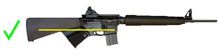California legal AR-15 style rifle with detachable magazine and no banned features.