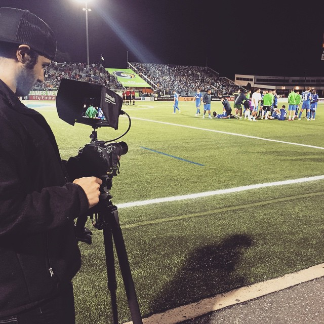 Free soccer! Going to overtime! @nycosmos #nycosmos #nyc #nycfc #ussoccer #usopencup @usopencup #kicktv @kicktv
