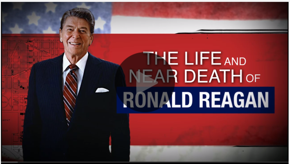 The life and near death of Ronald Reagan