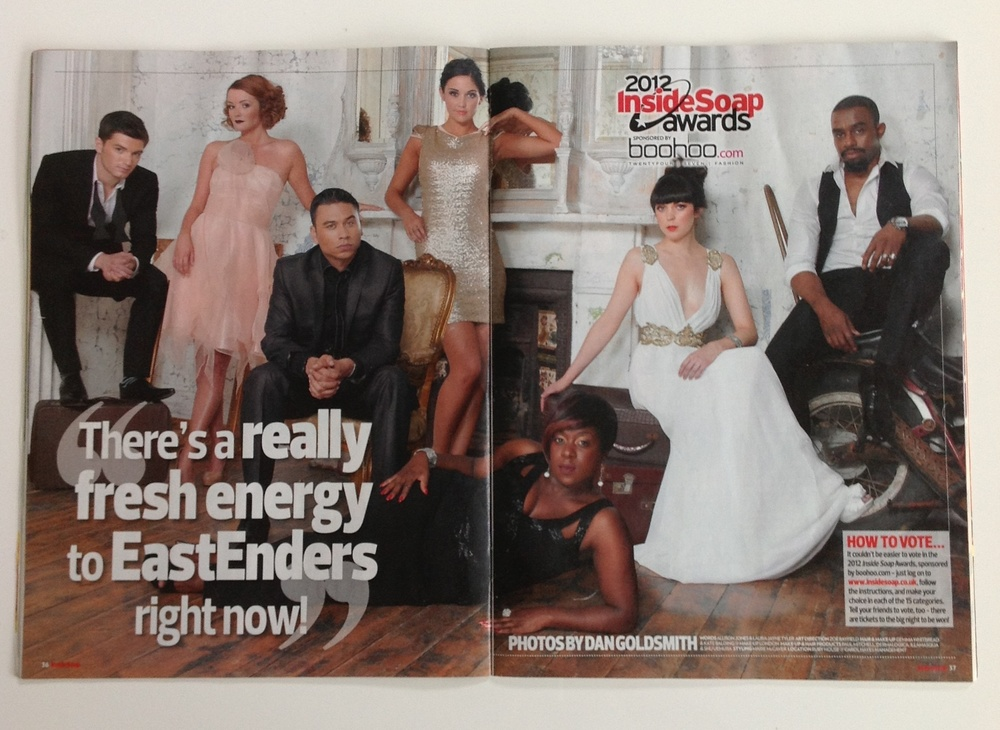 Inside Soap spread.