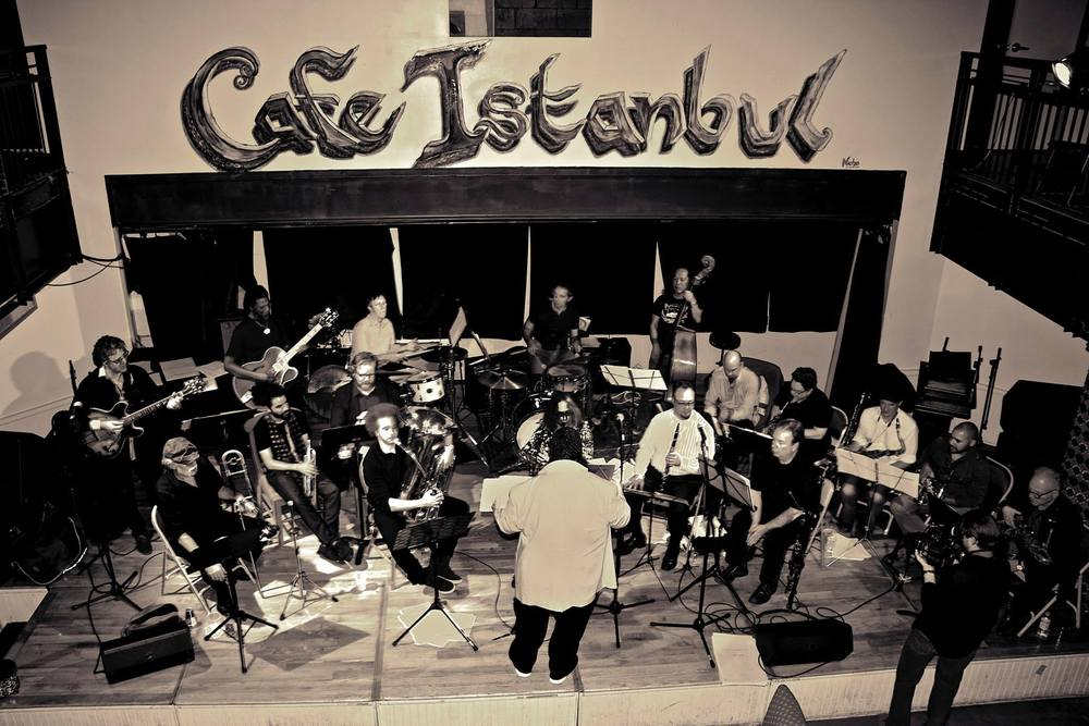 Naked Orchestra at Istanbul Sept. 2014