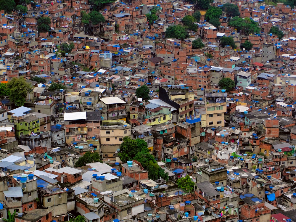 Rocinha - Rio de Janeiro - Brazil: Copyright Vitoriano Junior - Shutterstock