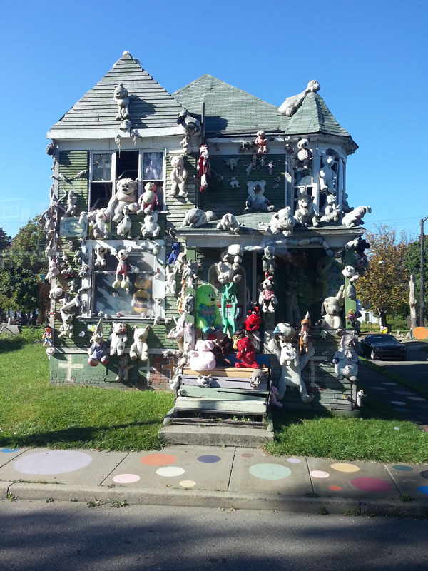 Animal House, Heidelberg Project, Detroit