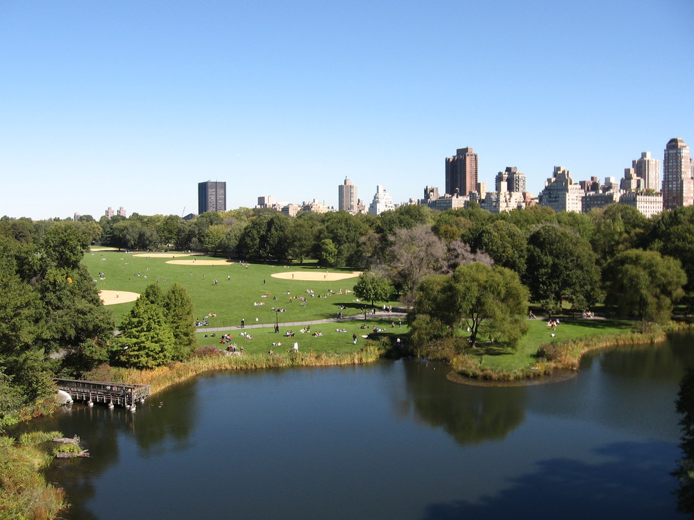 """VISTA OF GREAT LAWN FROM BELVEDERE CASTLE""  BY KCPWIKI - OWN WORK. LICENSED UNDER CC BY-SA 3.0 VIA WIKIMEDIA COMMONS"