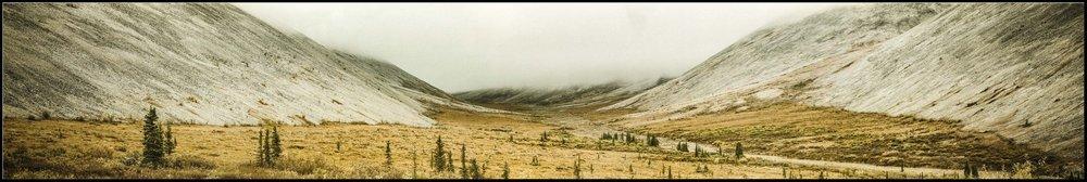 Pass 12 x 60 Canvas Ogilvie Mountains Yukon