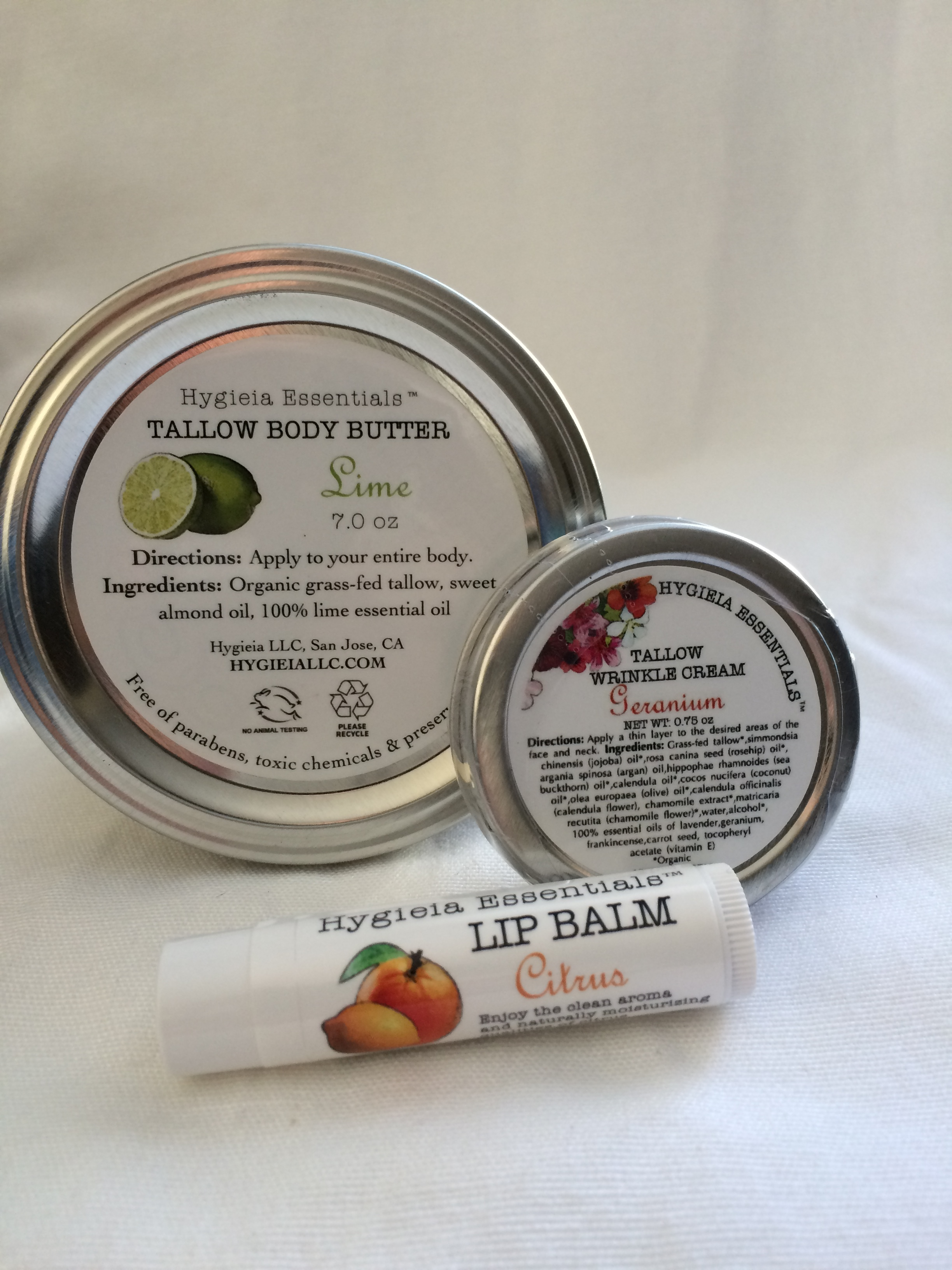 For Those With Dry Skin Gift Set Hygieia LLC