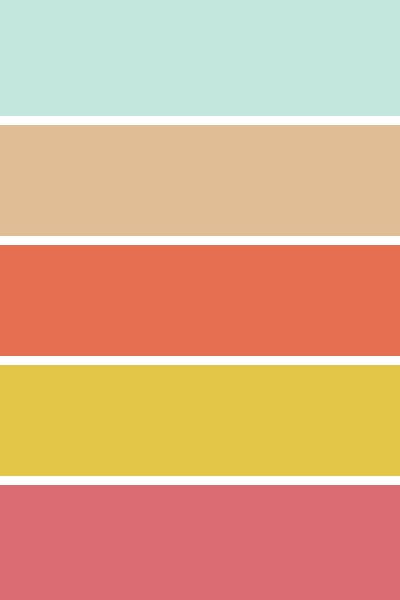 Country Wedding Color Palette