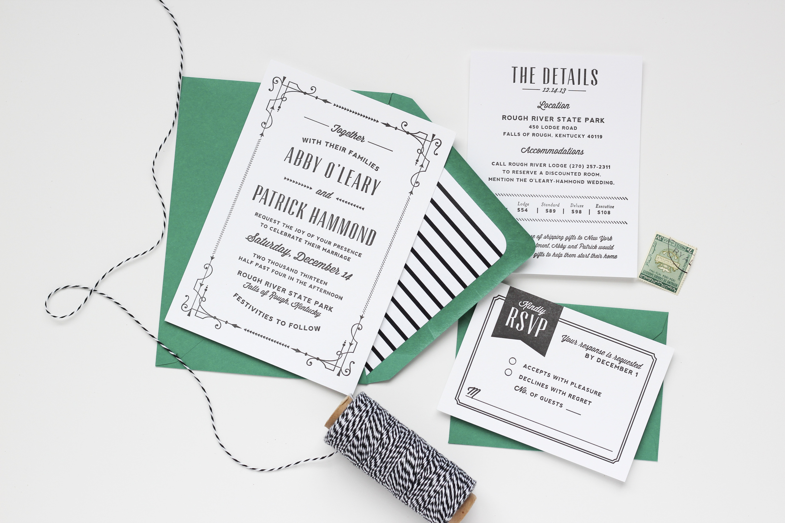 Custom Invitations by Megan Wright Design Co.