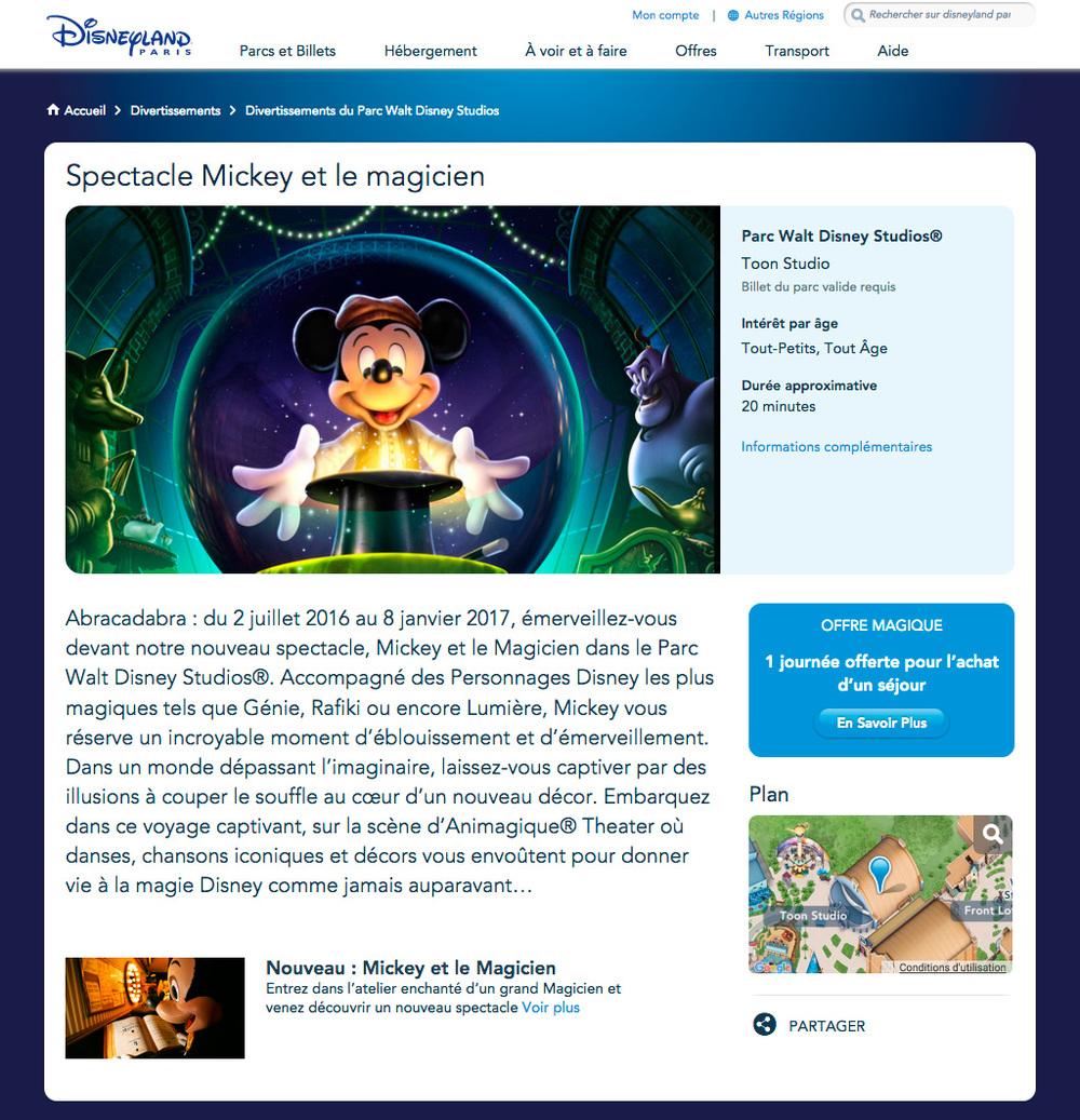 Web Redaction DisneylandParis