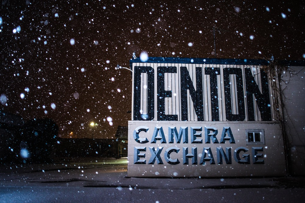 I started my adventure at my favorite place in Denton: Denton Camera Exchange