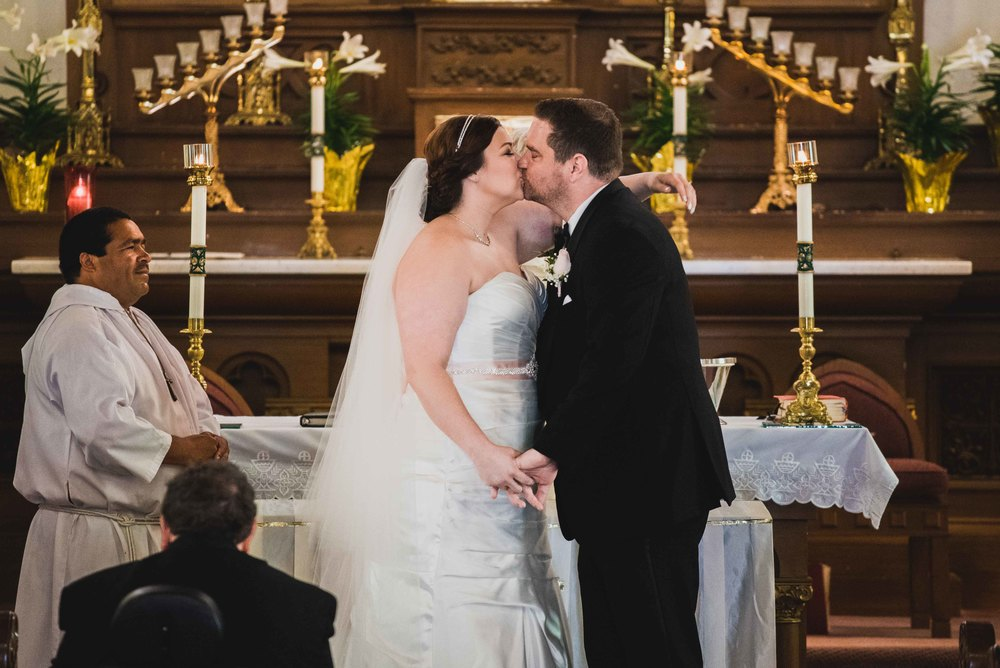 Dallas Wedding - Heritage Springs - Katie and Dustin - The Kiss