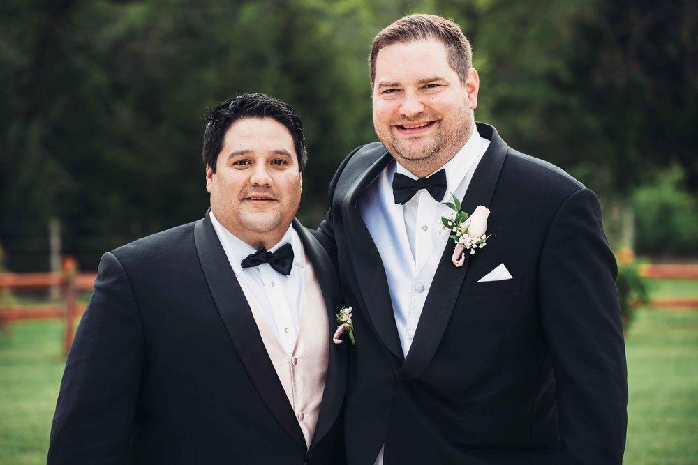 Dallas Wedding - Heritage Springs - Katie and Dustin - Best Man