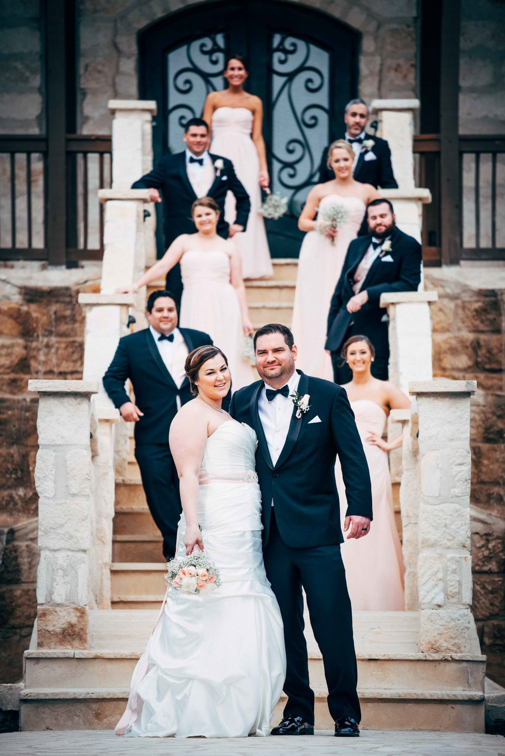 Dallas Wedding - Heritage Springs - Katie and Dustin - Bridal Party