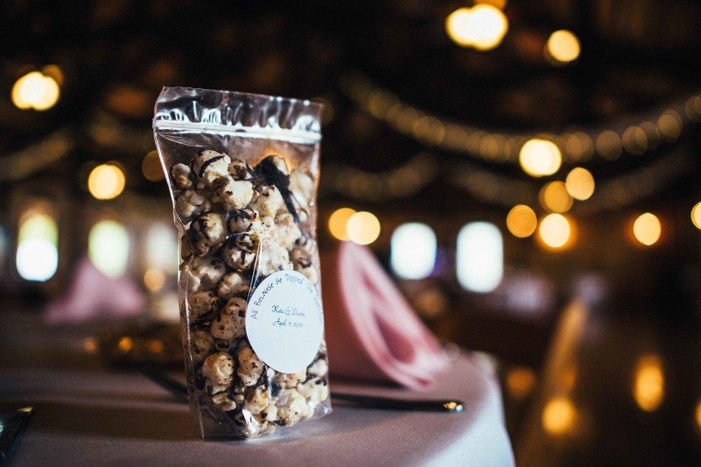 Dallas Wedding - Heritage Springs - Katie and Dustin - Popcorn