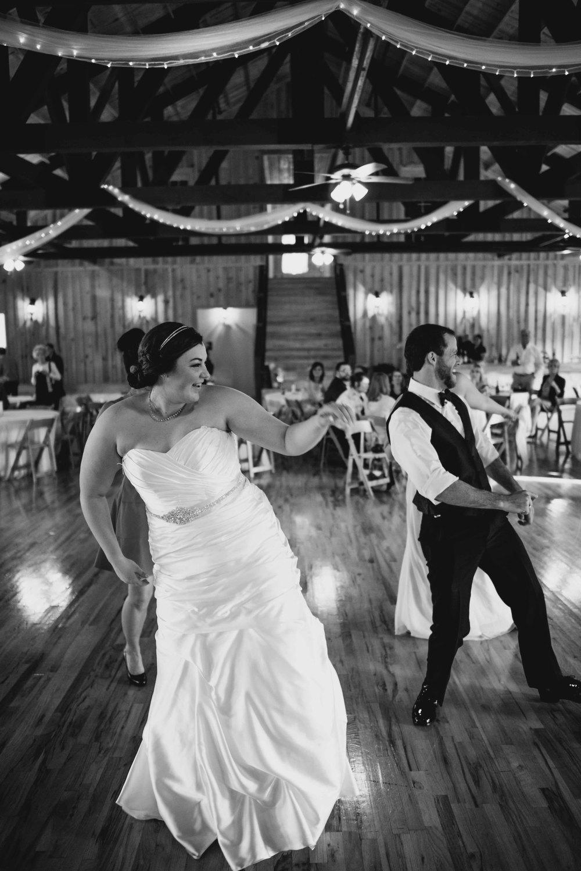 Dallas Wedding - Heritage Springs - Katie and Dustin - Bride Dancing