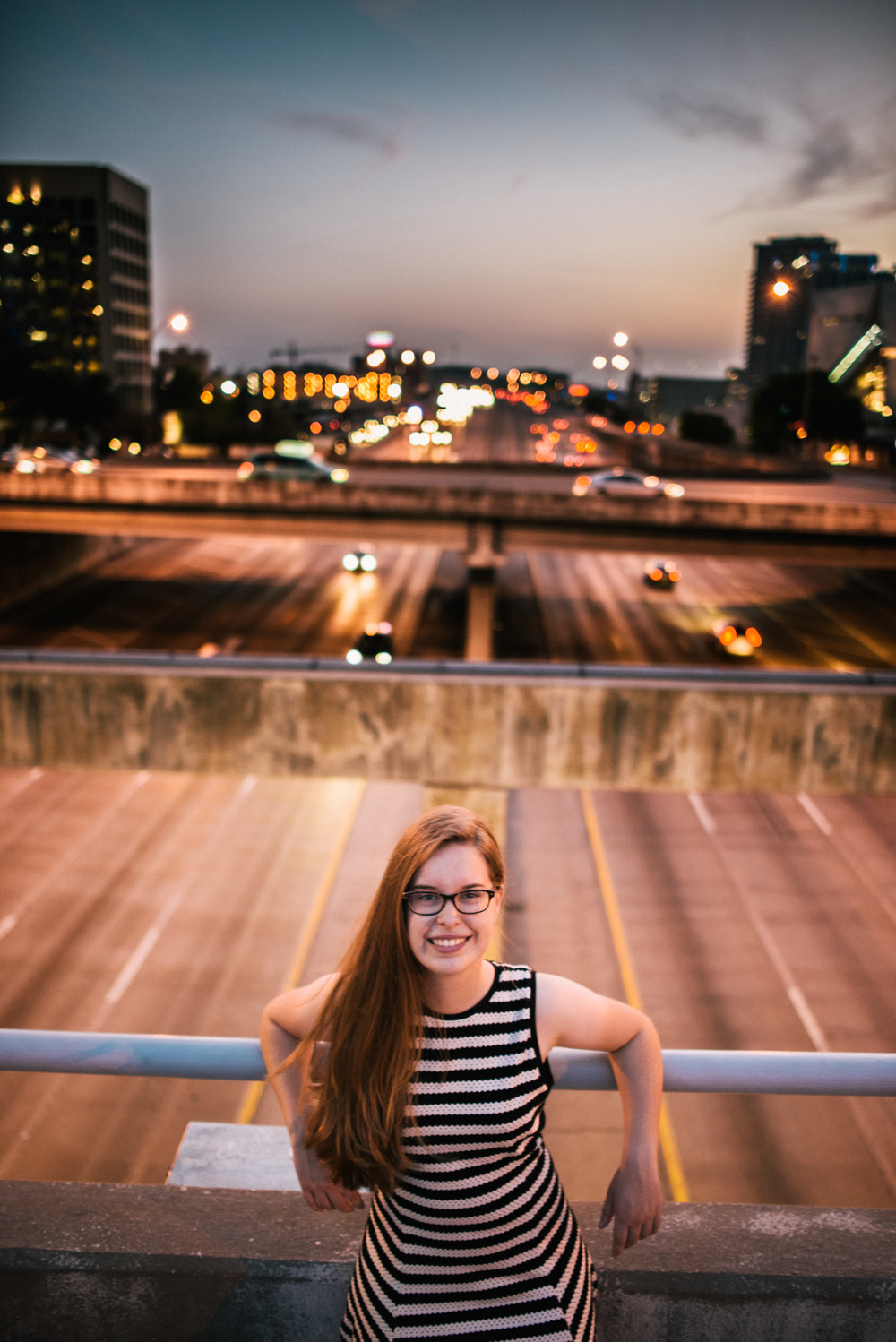Flower Mound Senior Portraits - Marcus High School - Dallas - Victory Park