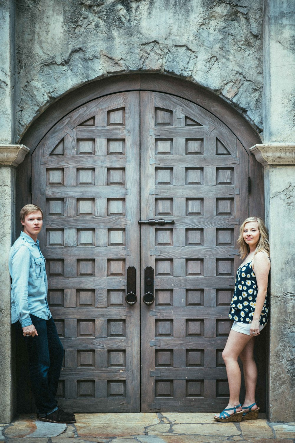 Marcus Senior Pictures - Gaylord Texan Hotel - Erik and Emily - Flower Mound