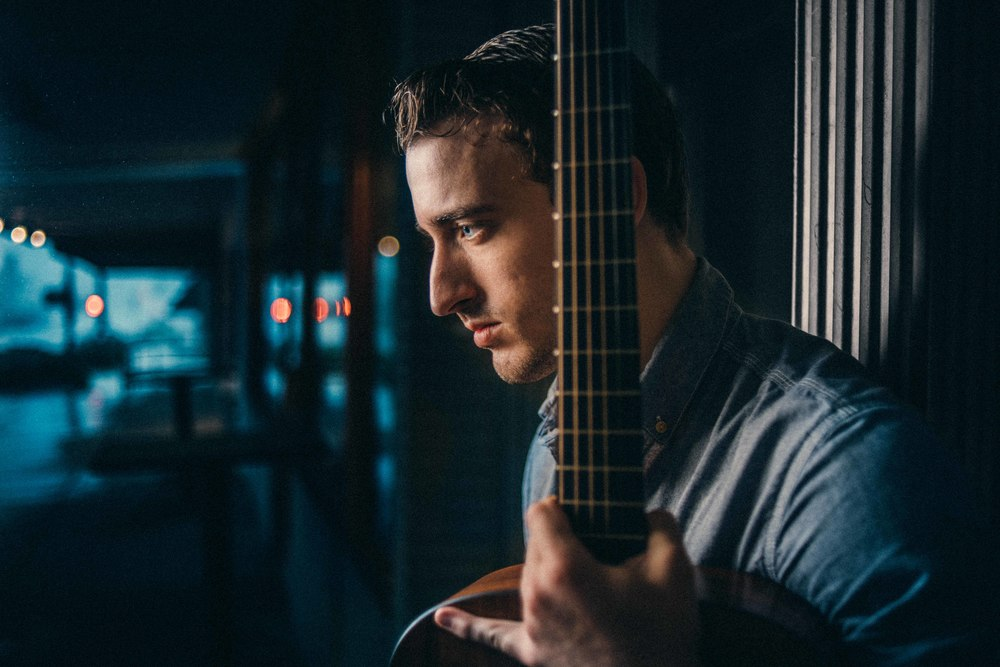 Denton Square Photo Shoot - Musician - Caden