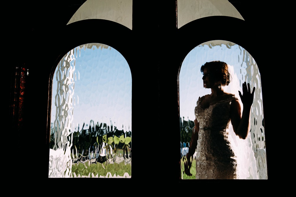 I recreated this shot on the wedding day with David in the left window. I'll share that shot soon!