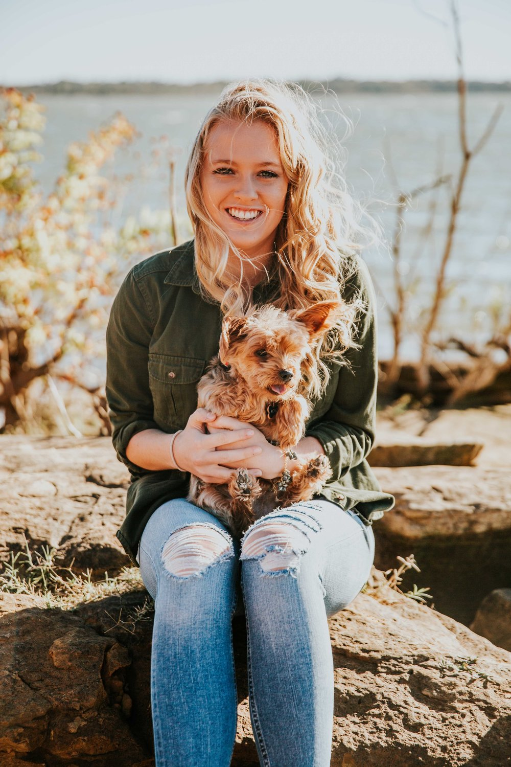 Puppy Senior Portraits