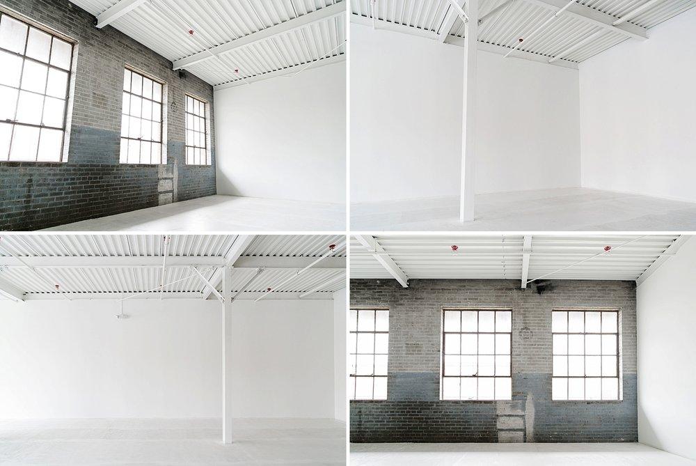The Houston Rental Studio - Modern Indoor Studio with exposed brick and plenty of Natural Light