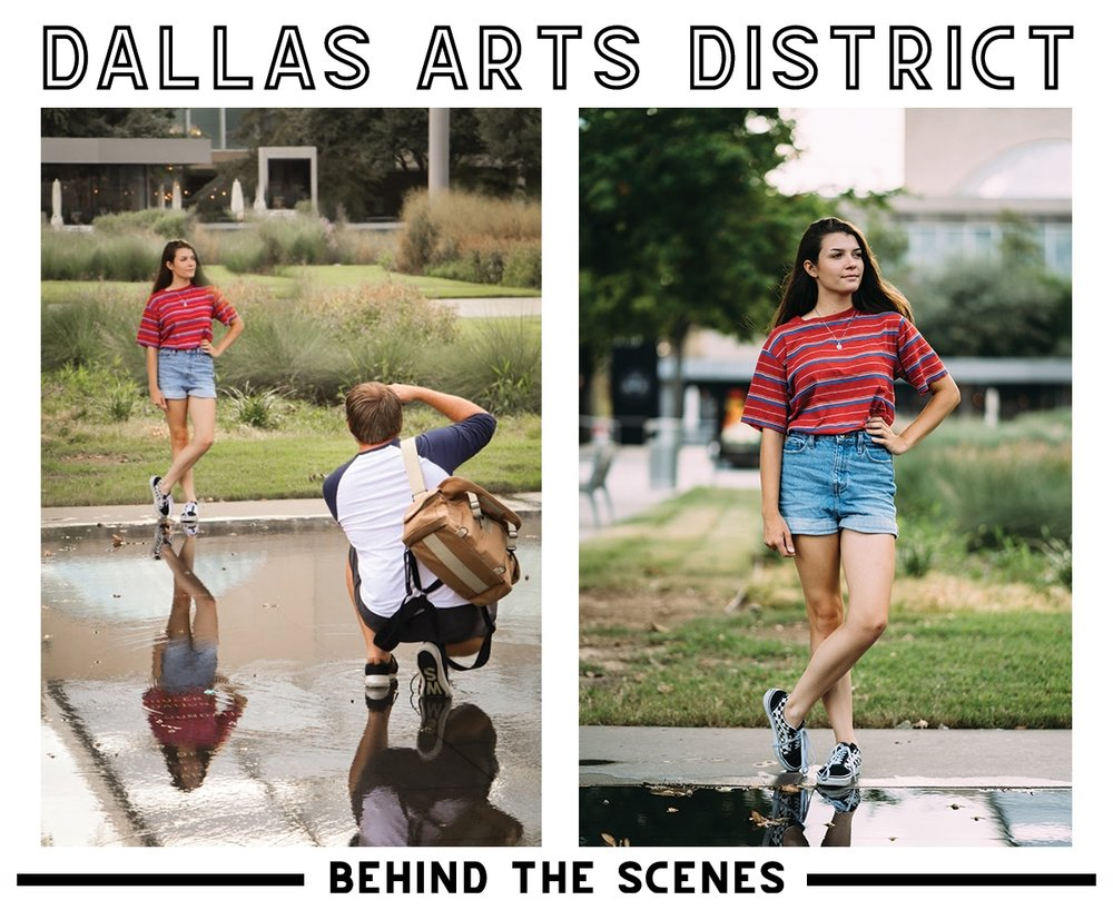 Downtown Dallas Senior Photos